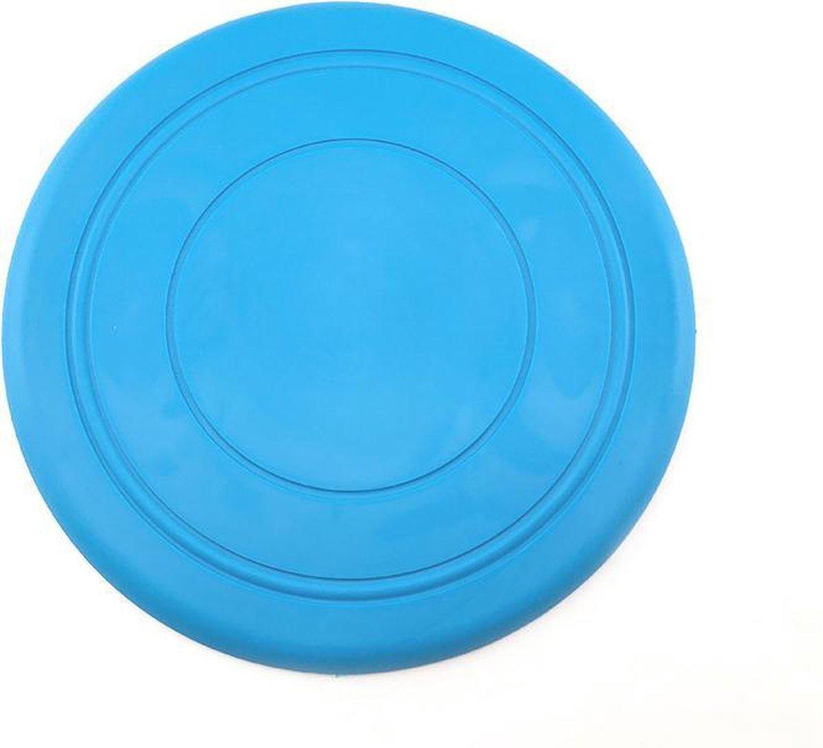 Puppy frisbee blauw